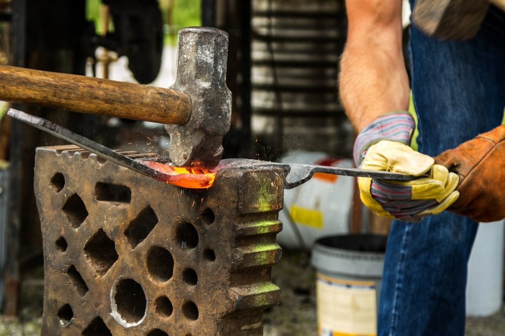 Beginner Blacksmithing Projects
